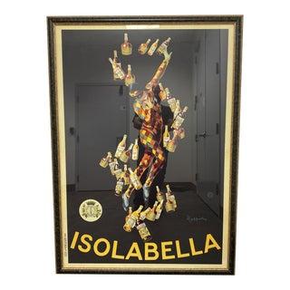 Mid 20th Century Isolabella Poster Print Custom Framed For Sale