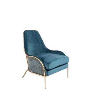 Modern Audrey Lounge Chair For Sale