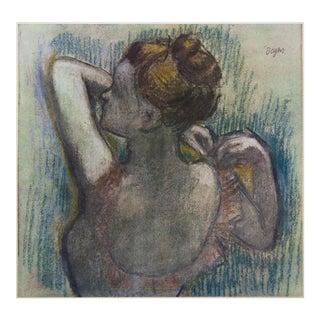 "1959 Edgar Degas, Art Deco ""Dancer"" First Edition Photogravure From Budapest For Sale"