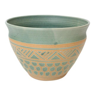 Vintage Mid Century Endleman Pottery Planter For Sale