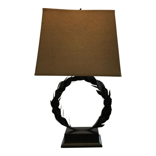 Laurel Wreath Lamp For Sale
