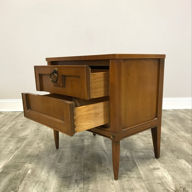 Basic Witz Mid Century Nightstands - a Pair - Image 4 of 11
