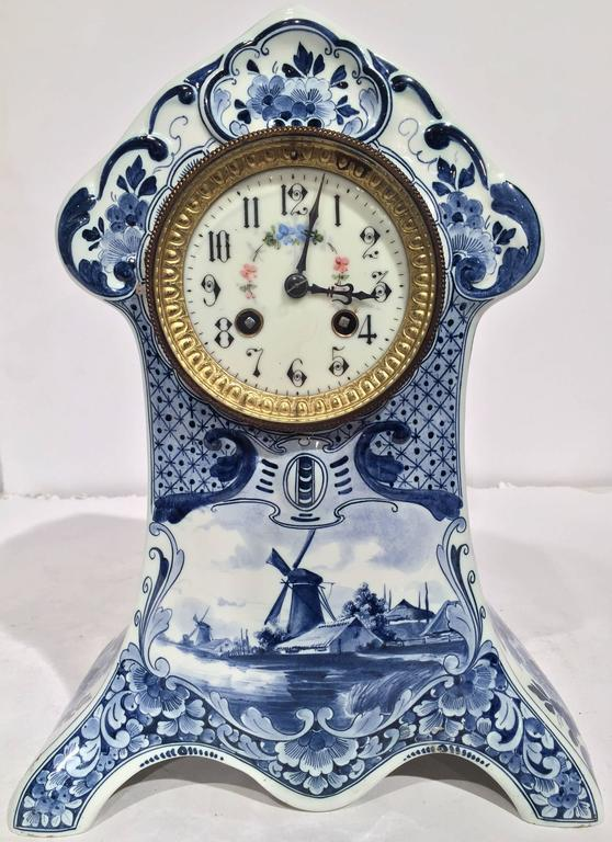 Antique mantel clock hands