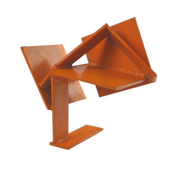 Vintage Orange Sculpture - Image 1 of 2