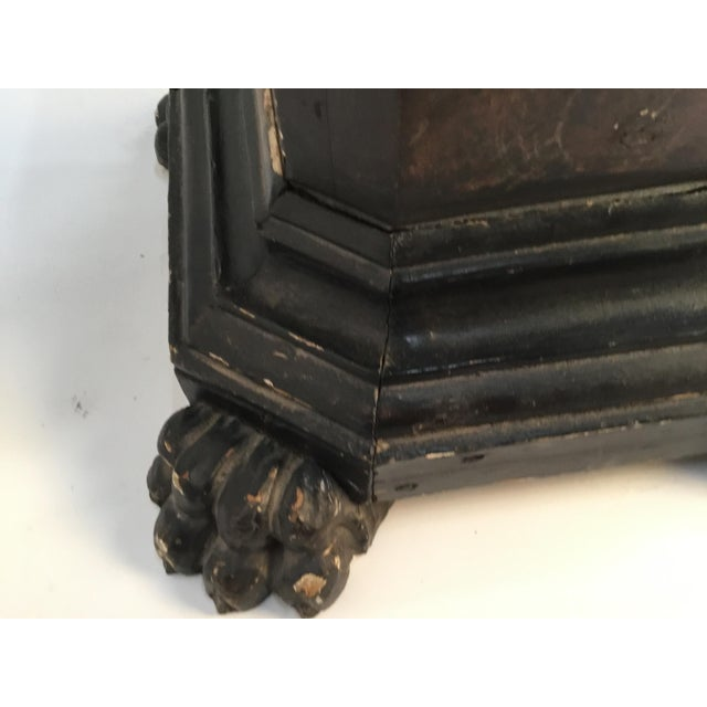 18th Century Italian Marbleized and Carved Pedestals- a Pair For Sale - Image 10 of 13
