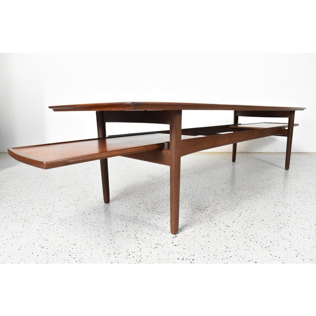 Bramin Møbler Teak Surfboard Coffee Table - Image 5 of 7