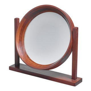 Scandinavian Modern Adjustable Table or Vanity Mirror, 1960s For Sale