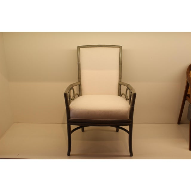 McGuire Laura Kirar Upholstered Arm Chair - Image 2 of 5