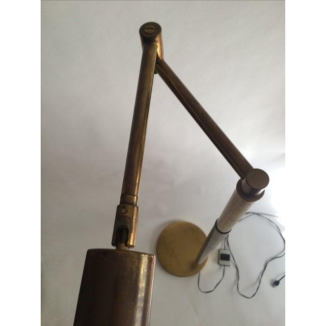 Koch + Lowy Brass Floor Lamp - Image 5 of 9