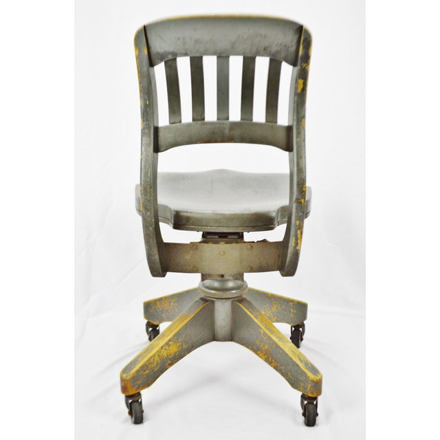 vintage b l marble chair co bankers swivel desk chair chairish