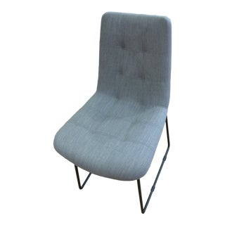 Modern Contemporary Upholstered Side Chair For Sale