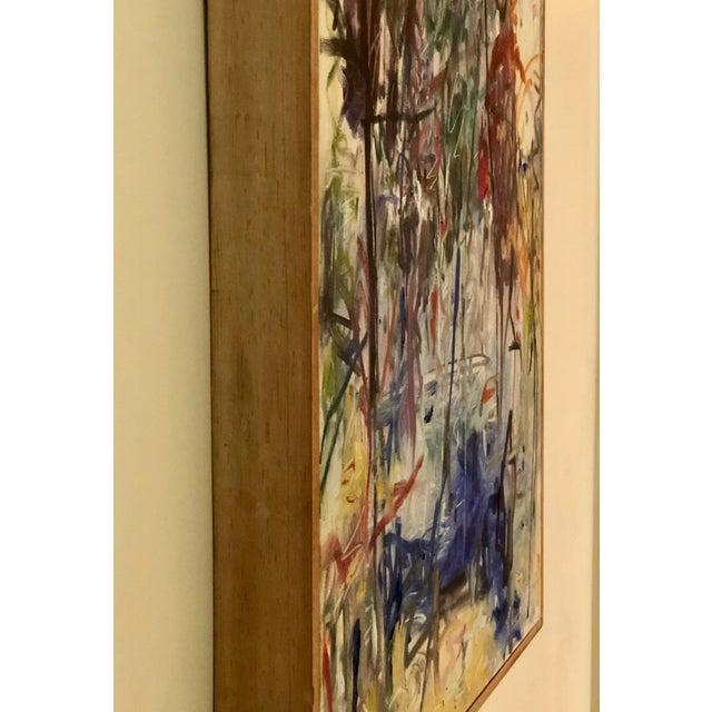 """2010s 2016 Original Abstract Expressionist """"Magical Moments"""" Painting by Ellen Reinkraut For Sale - Image 5 of 10"""
