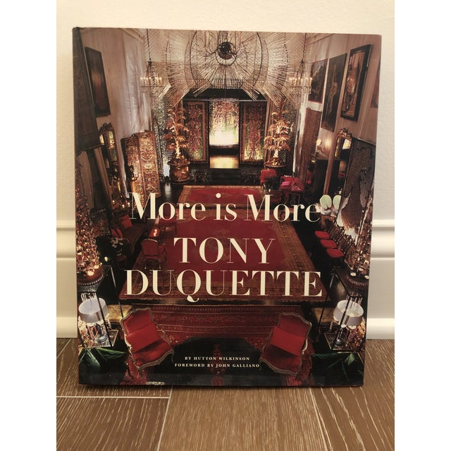 """More Is More - Tony Duquette"" Signed by Author For Sale In Indianapolis - Image 6 of 6"