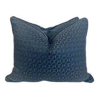 "Hermès ""Quartz in Universe"" 16""x20"" Pillows-A Pair For Sale"