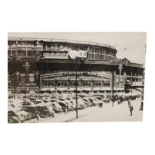 Large 1930s Comiskey Park in Chicago Poster