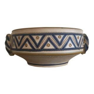Italian Decorative Ceramic Bowl For Sale