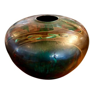 Tony Evans Raku Centerpiece For Sale
