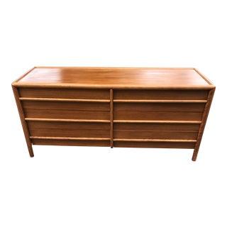 Mid Century Walnut Dresser by Robsjohn Gibbings for Widdicomb For Sale