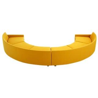 Milo Baughman Semi-Circle Sectional Sofa For Sale