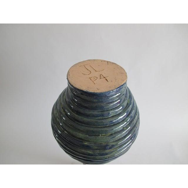 Blue Coil Floor Vase - Image 5 of 5