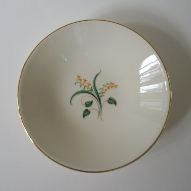 1960s 1960s Vintage Knowles Forsythia Dinnerware Service Set - 44 Pieces For Sale - Image 5 of 13