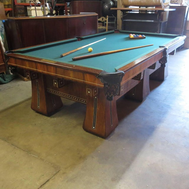 One of the finest pool tables ever created by the Brunswick Balke Collendar company was the Arcade model. The super deluxe...