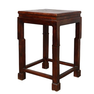 20th Century Chinese Carved Plant Stand/Telephone Table Preview