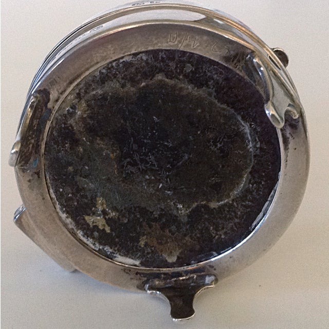English Sterling Round Box For Sale In San Francisco - Image 6 of 6