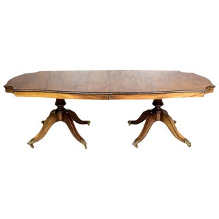 English Extendable Dining Table For Sale