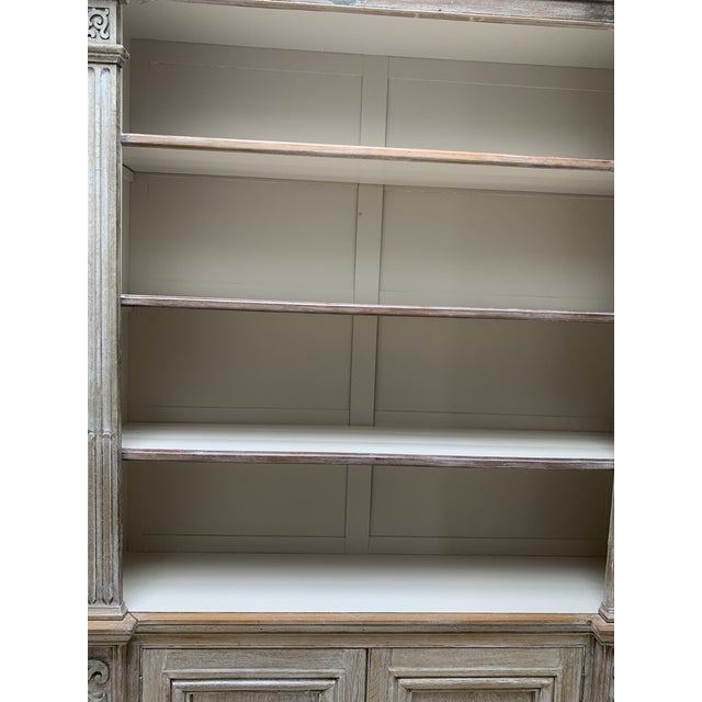 Wood Antique French Display Cabinet For Sale - Image 7 of 13