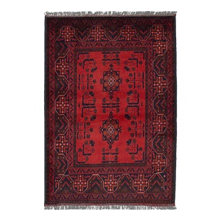 Tribal Afghan Red Rug For Sale