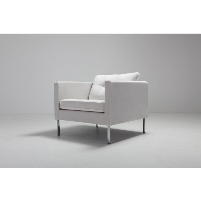 1960s Pierre Paulin 446 Pair of Rare Club Chairs for Artifort For Sale - Image 5 of 10