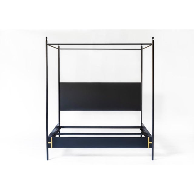Contemporary Josephine Canopy King Size Bedframe For Sale