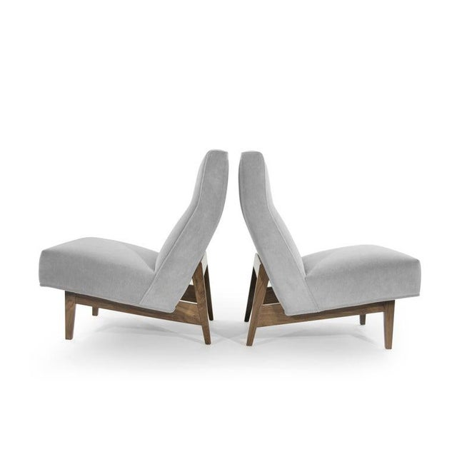Mid 20th Century Classic Slipper Chairs by Jens Risom, Circa 1950s - a Pair For Sale - Image 5 of 13