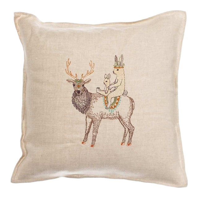 Boho Chic Keeper Pillow For Sale