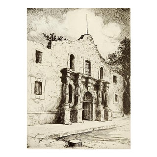 Alamo Print by Bernard Wall