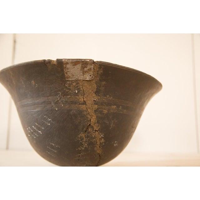 Vintage Wooden African Bowl - Image 4 of 10
