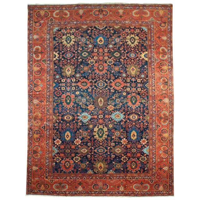 Antique Sultanabad Rug - 10′2″ × 13′6″ - Image 1 of 2