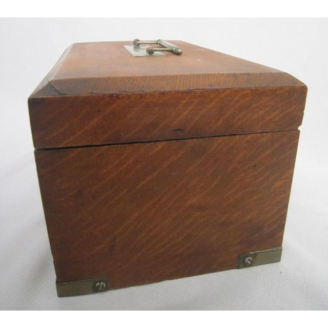 Walnut Humidor Box For Sale - Image 6 of 6