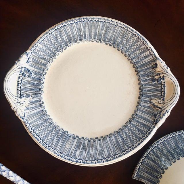 "1900 - 1909 Soho Pottery ""Pandora"" Pattern Soup Tureen C.1906 For Sale - Image 5 of 9"