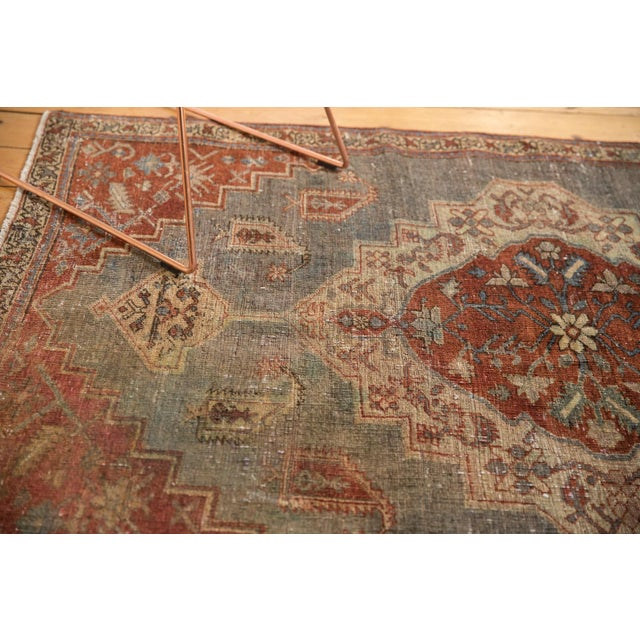 """Textile Vintage Distressed Northwest Persian Rug - 4'3"""" X 6'3"""" For Sale - Image 7 of 13"""