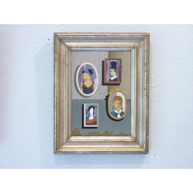 Modern Pietra Dura Portraits - a Pair For Sale - Image 3 of 9