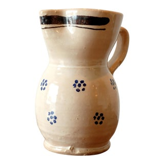 Vintage Italian Studio Pottery Ceramic Pitcher For Sale