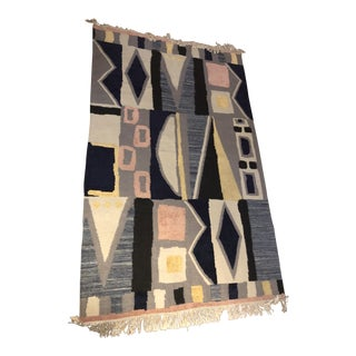 CB2 Modern Deco Reco Rug - 5′ × 8′ For Sale