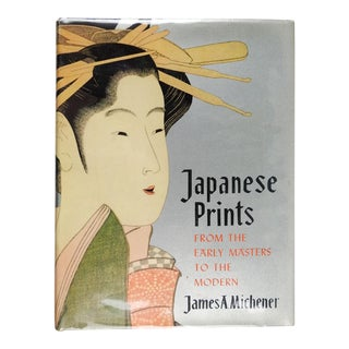 Japanese Prints by James Michener Book For Sale