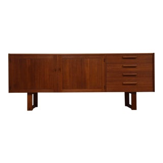 Nils Jonsson Swedish Teak Sideboard Credenza For Sale