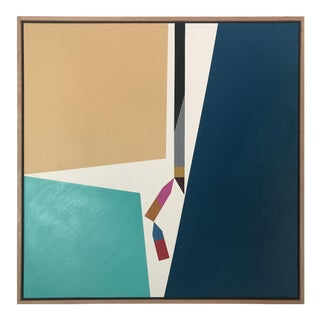 "Original Acrylic Painting ""Sharp Fragments"""