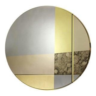 XL Orbit Braque Wall Mirror by Emma Peascod For Sale