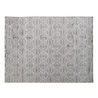 Stark Studio Rugs Contemporary New Oriental Tibetan Silk Rug - 6′1″ × 9′1″ For Sale
