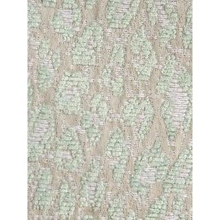 Sample, Scalamandre Leopard Aqua Harbor Fabric For Sale